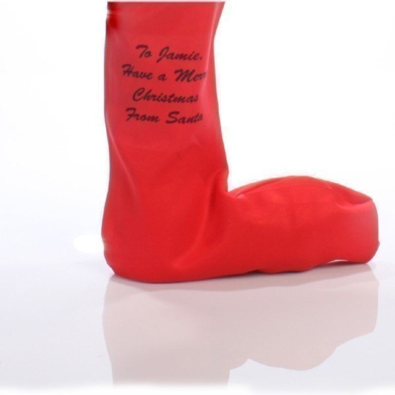 Personalised Message Christmas Stocking product image