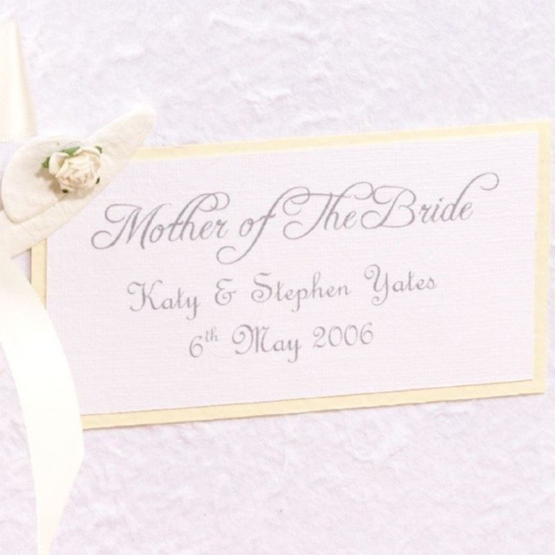 Personalised Mother of Bride Album product image