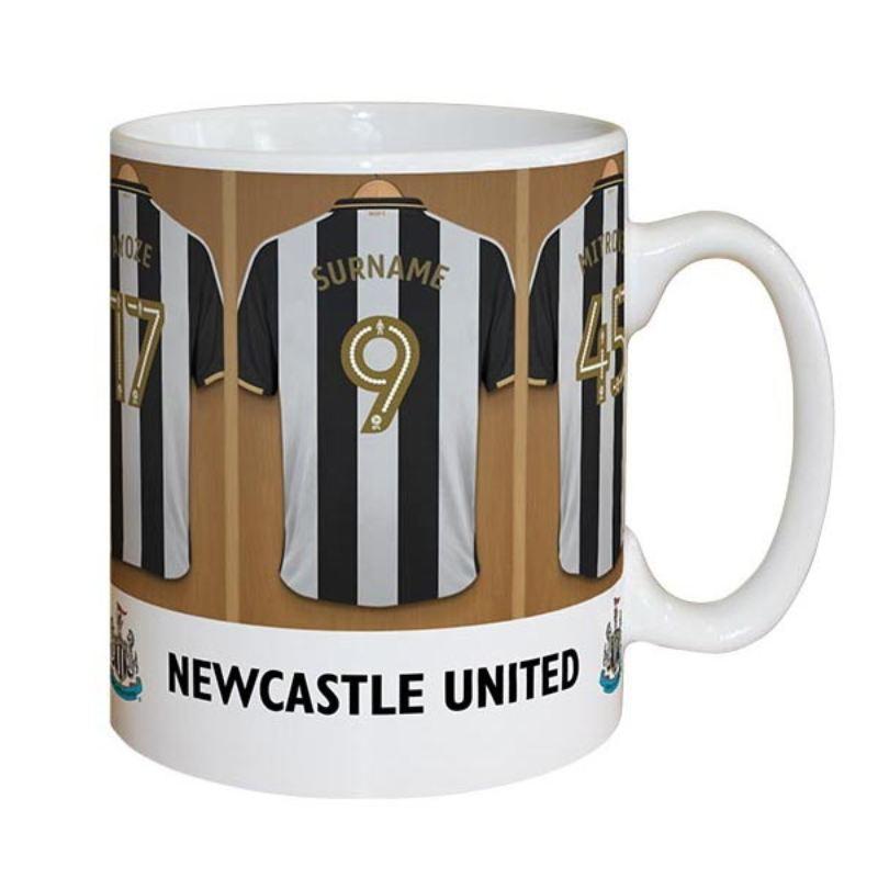 Baby Boy Gifts Newcastle : Personalised newcastle united dressing room mug the