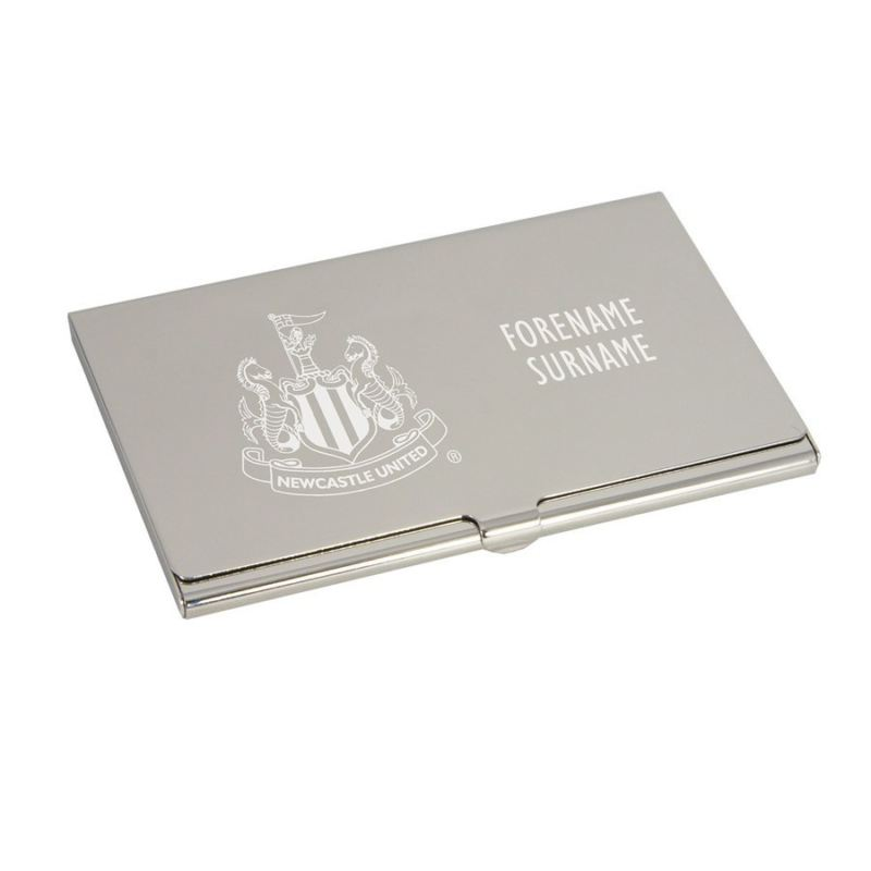 Personalised Newcastle United Engraved Business Card Holder - The ...