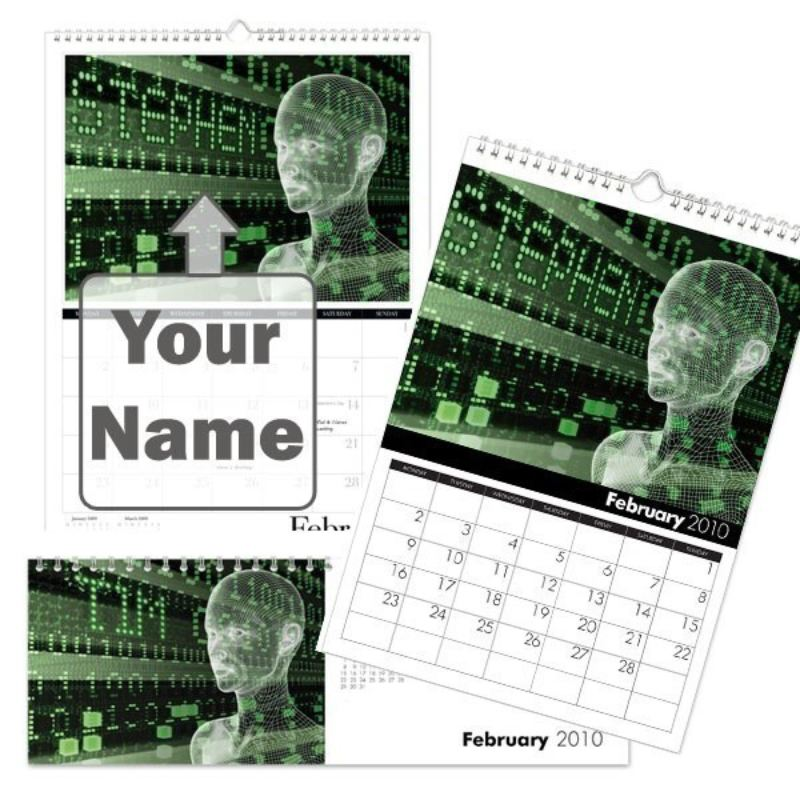 Personalised Sci-Fi Calendar product image