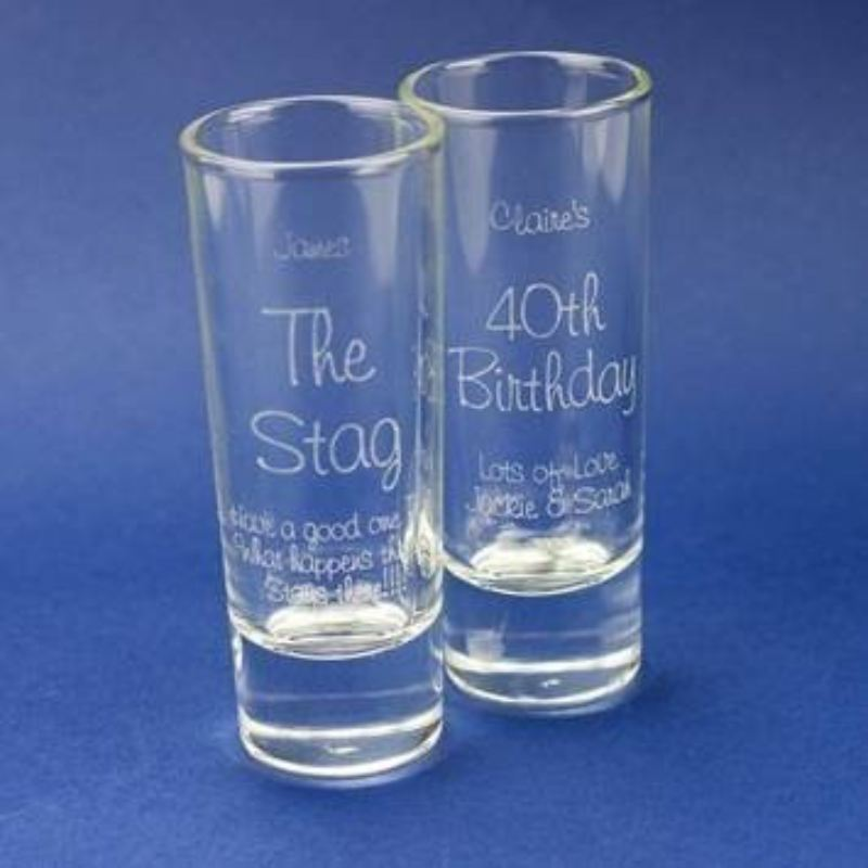 Personalised Shot Glass product image