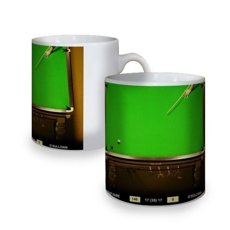 Personalised Snooker Mug product image