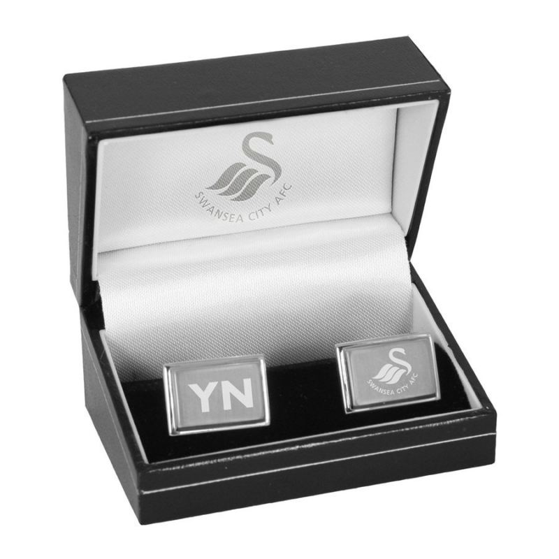 Personalised Swansea City Cufflinks product image