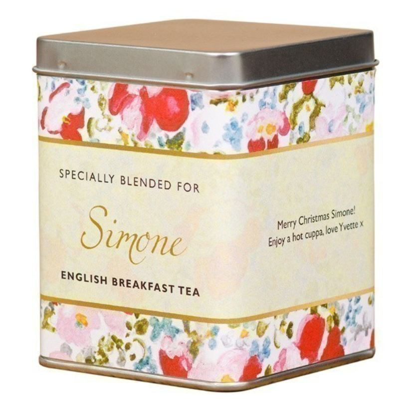 Personalised Tea - Floral Design product image