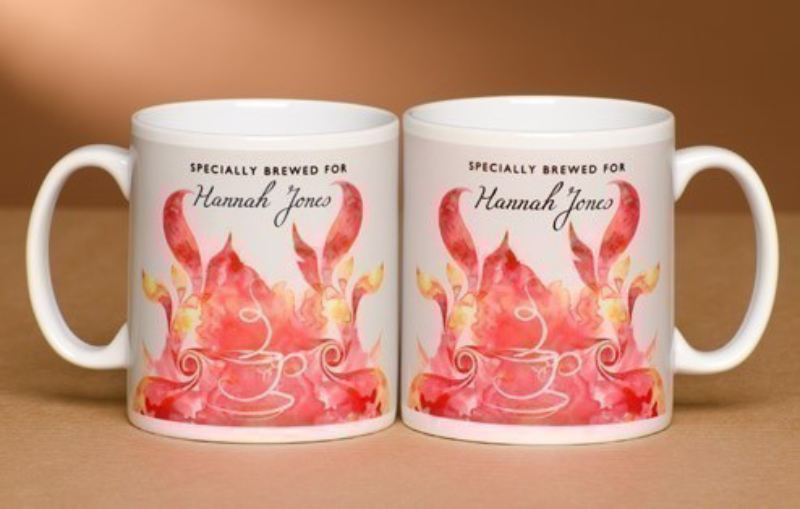 Personalised Tea Lovers Mug - Modern Design product image
