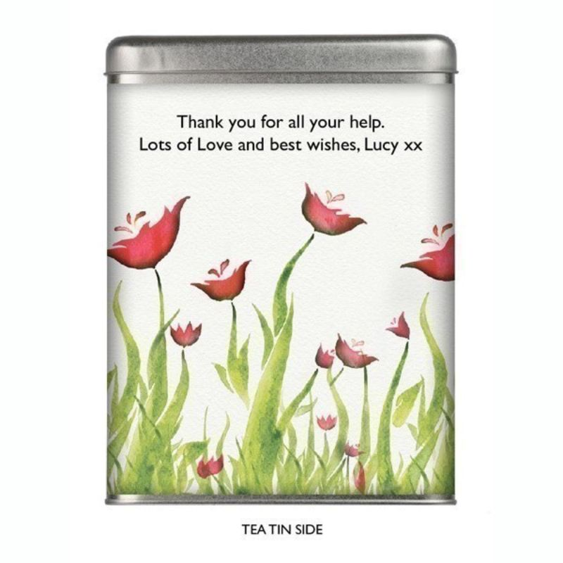 Personalised Tea - Poppy Design product image