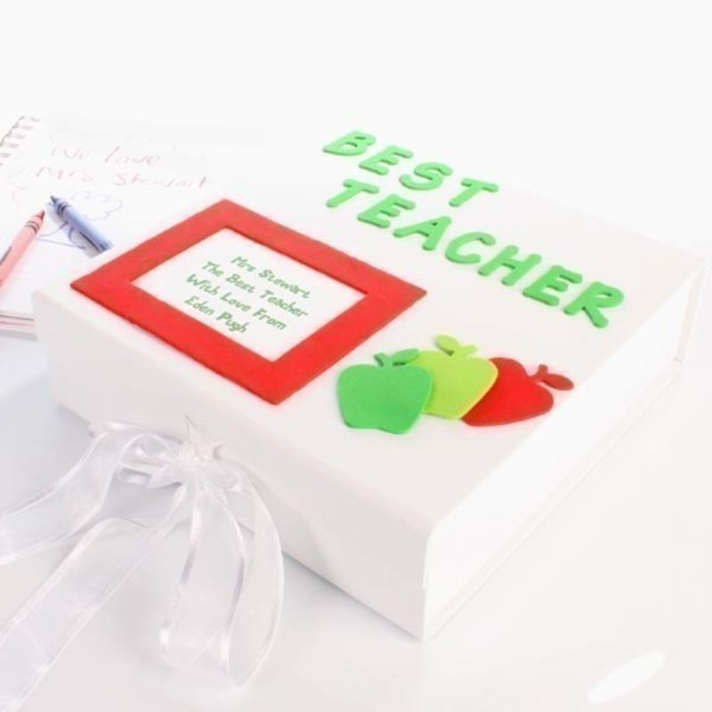 Personalised Teacher Memory Box product image