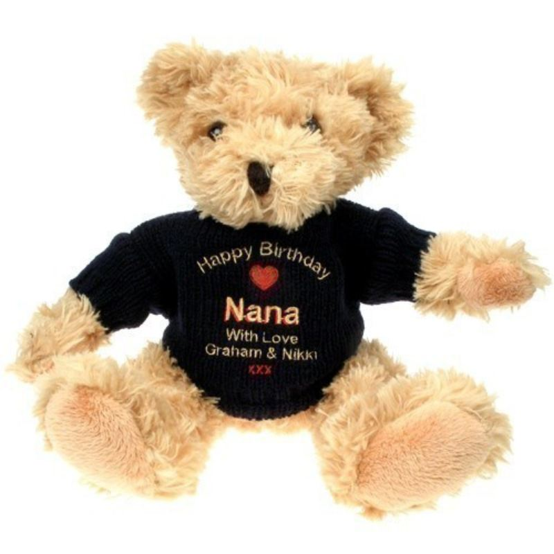 Personalised Teddy Bear Gift for Nana product image