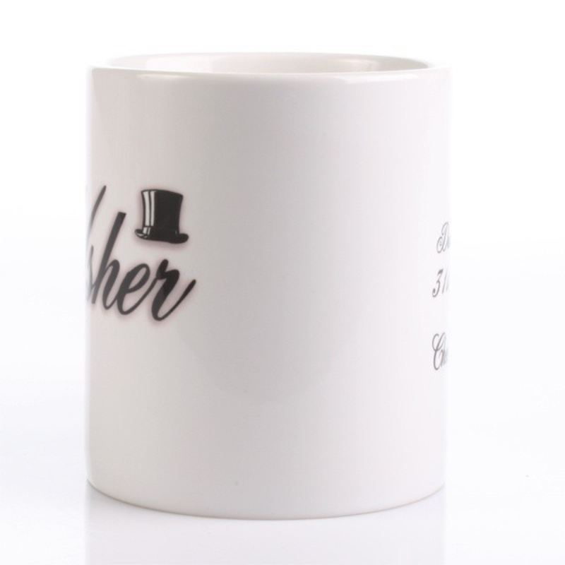 Personalised Usher Mug product image