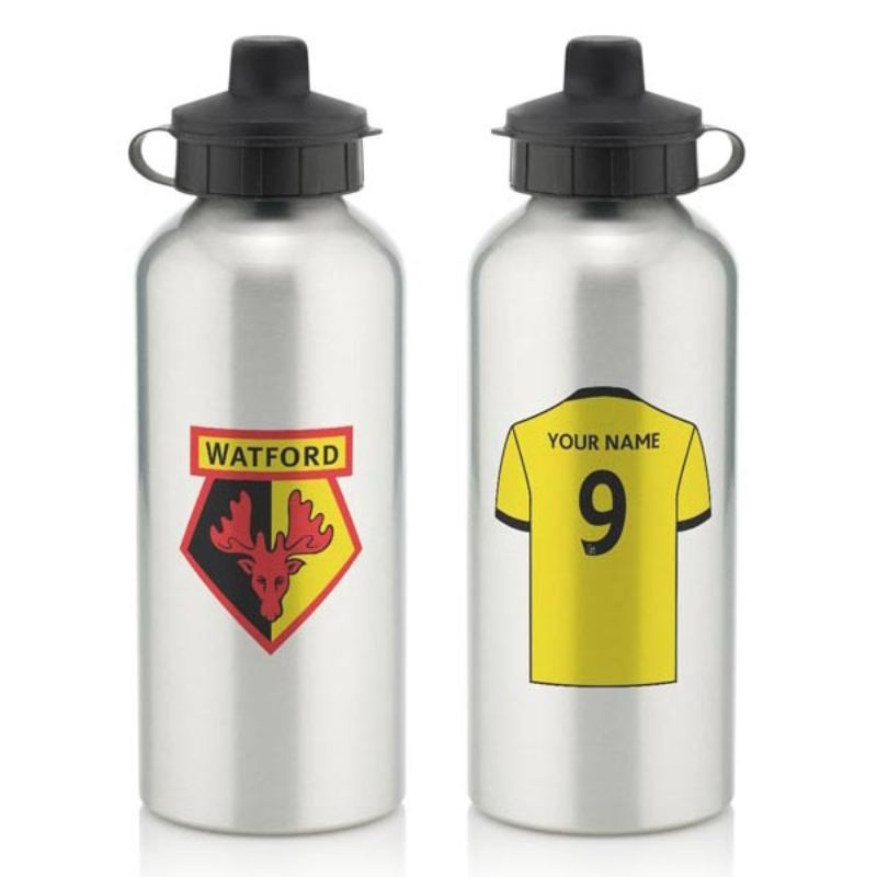 Personalised Watford Aluminium Water Bottle (600ml) product image