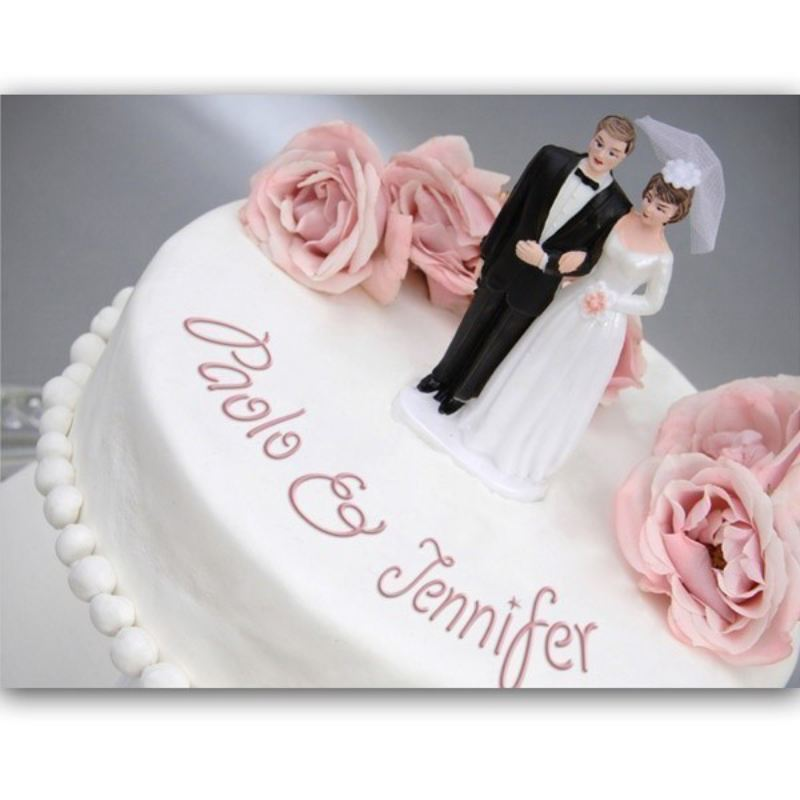 Personalised Wedding Cake Poster product image