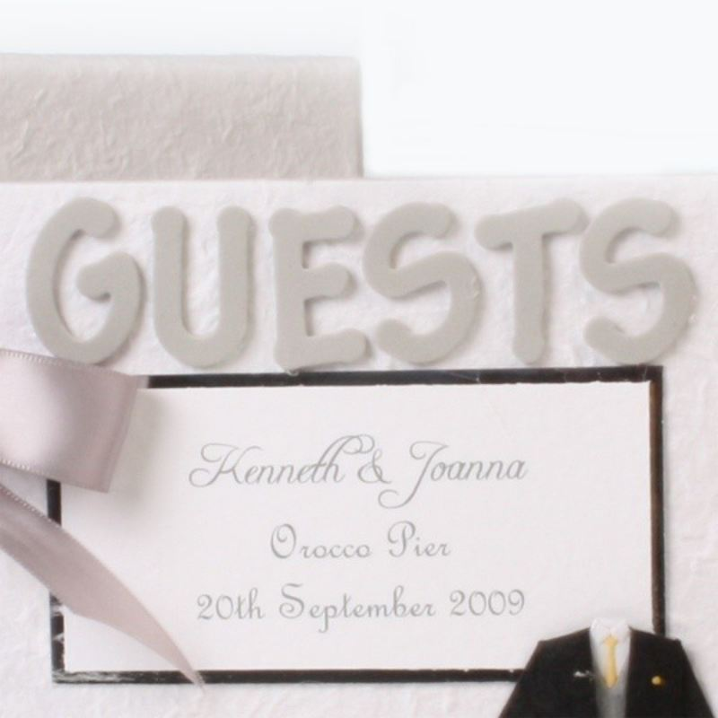 Personalised Wedding Guest Book product image