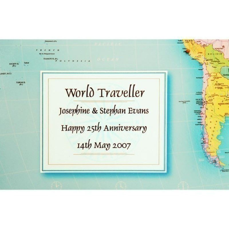 Personalised World Traveller Map product image
