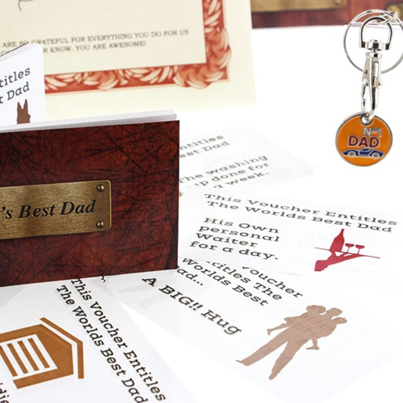Personalised Worlds Best Dad Gift Box product image