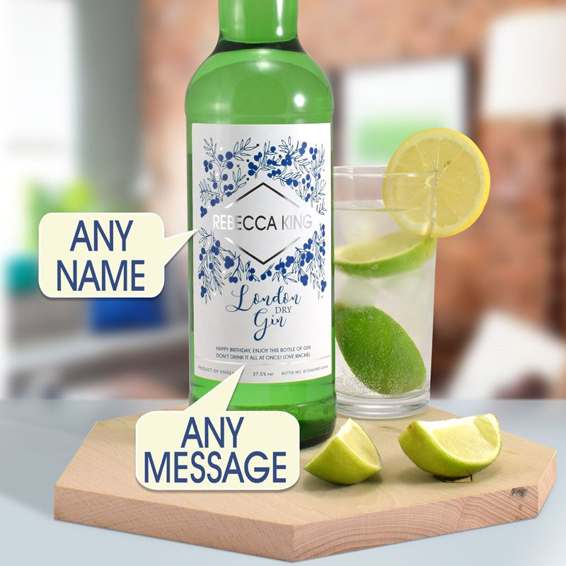 Personalised Gin product image