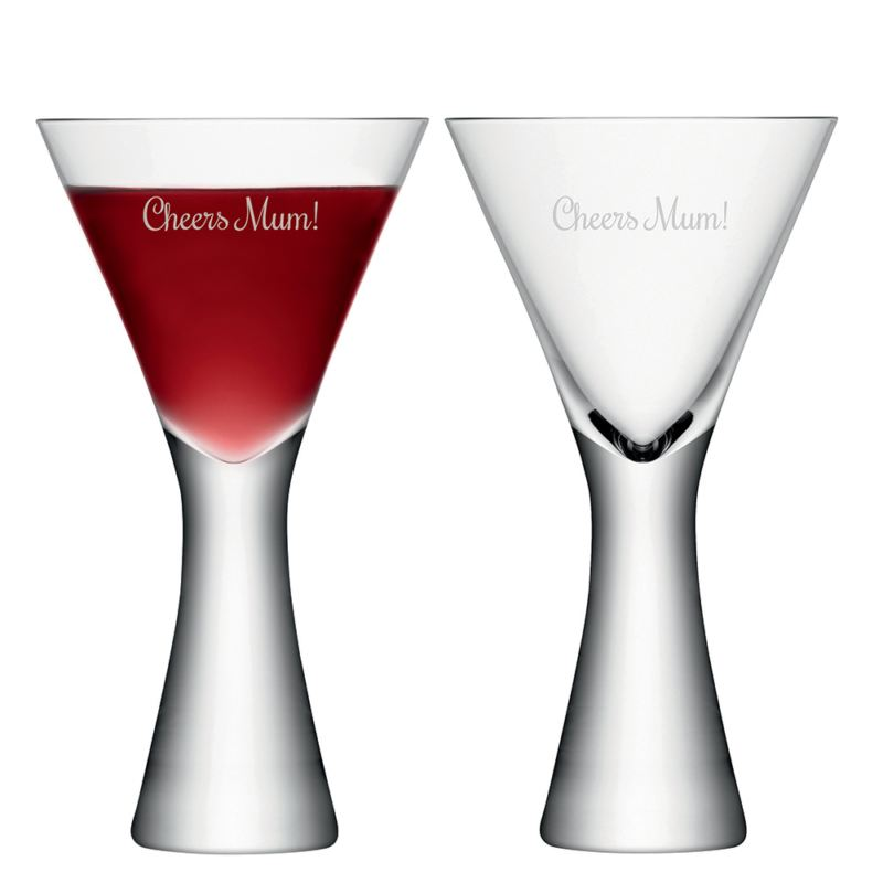 Personalised LSA Wine Glasses Set of 2 product image