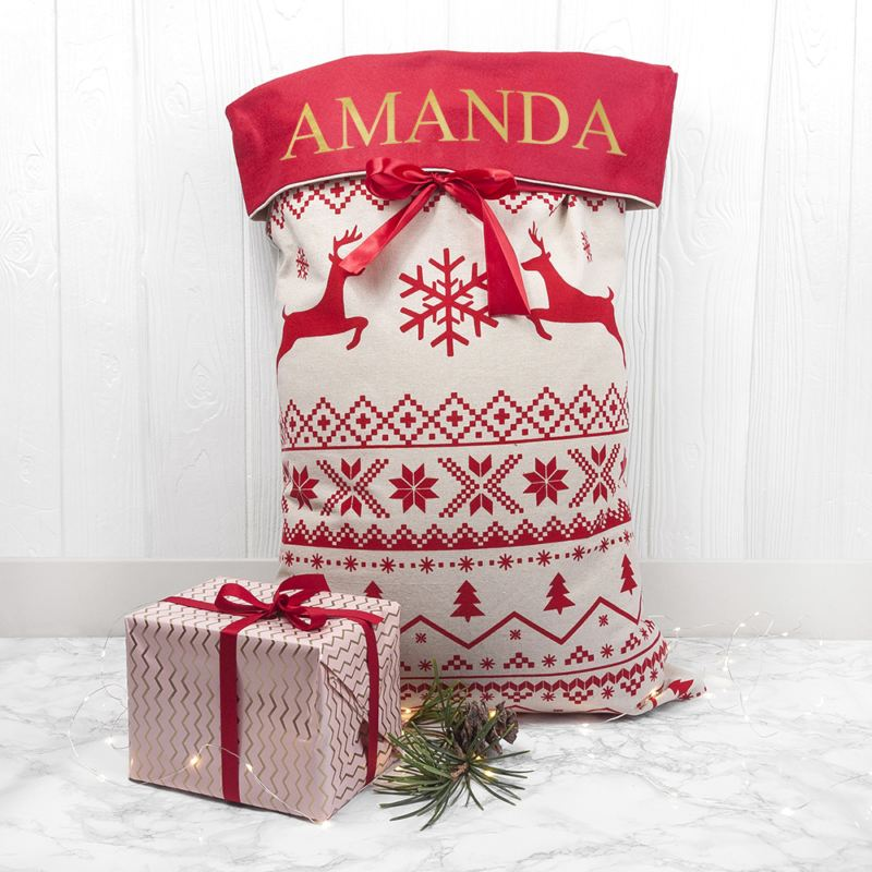 Personalised Luxury Santa Sack product image