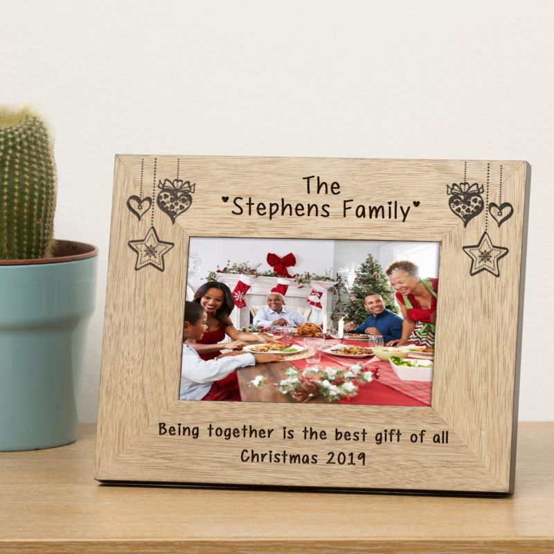 Family Name Wood Frame 6 x 4 product image