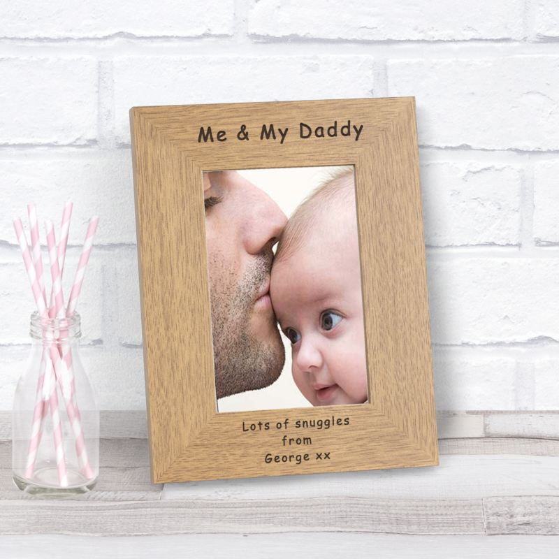 Me & My Daddy Wood Frame 6 x 4 product image