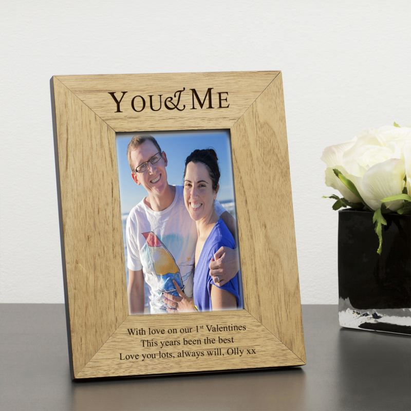 You & Me Wood Frame 6 x 4 product image