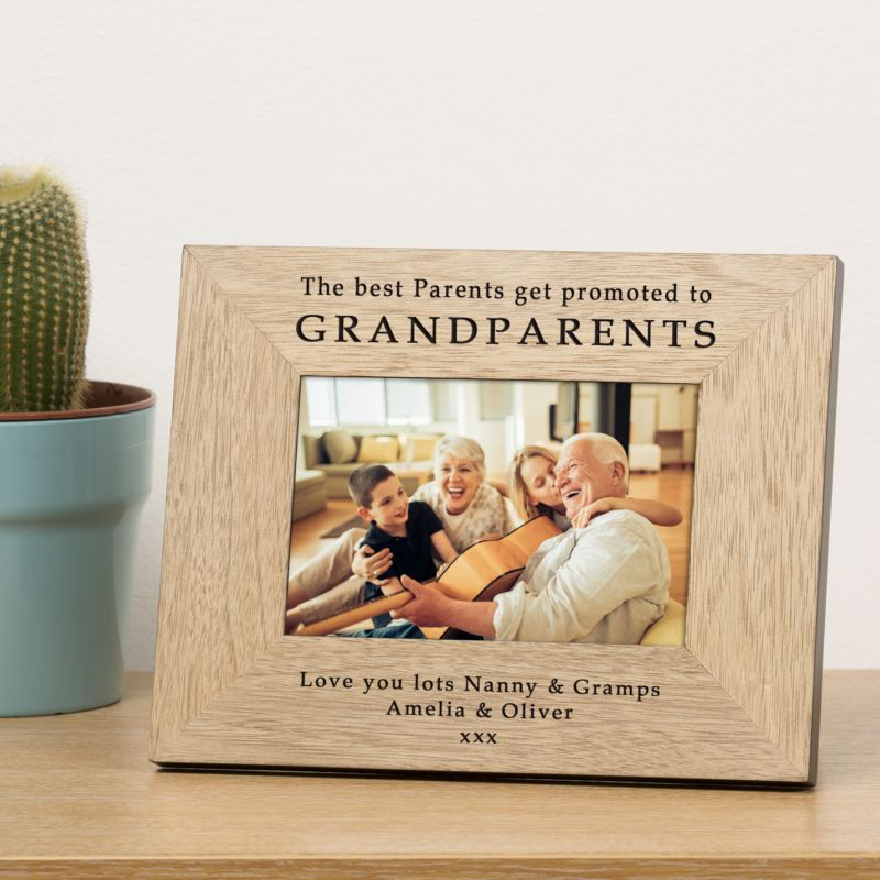 Grandparents Wood Frame 6 x 4 product image