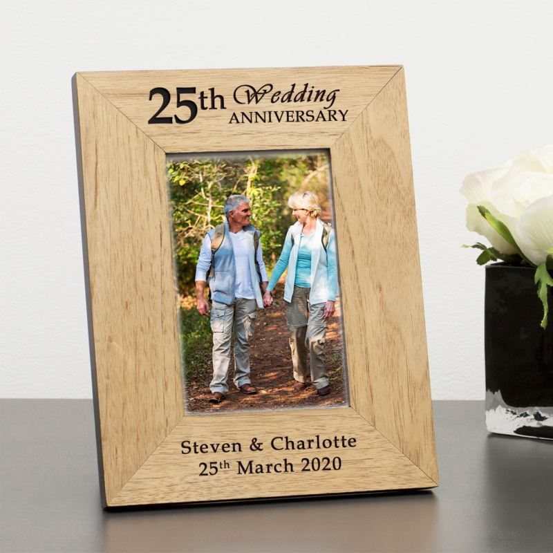 Anniversary Wood Frame 6 x 4 product image