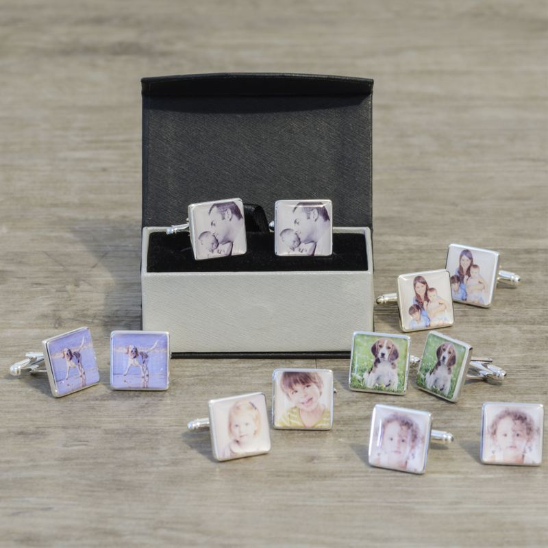 Personalised Photo Cufflinks product image