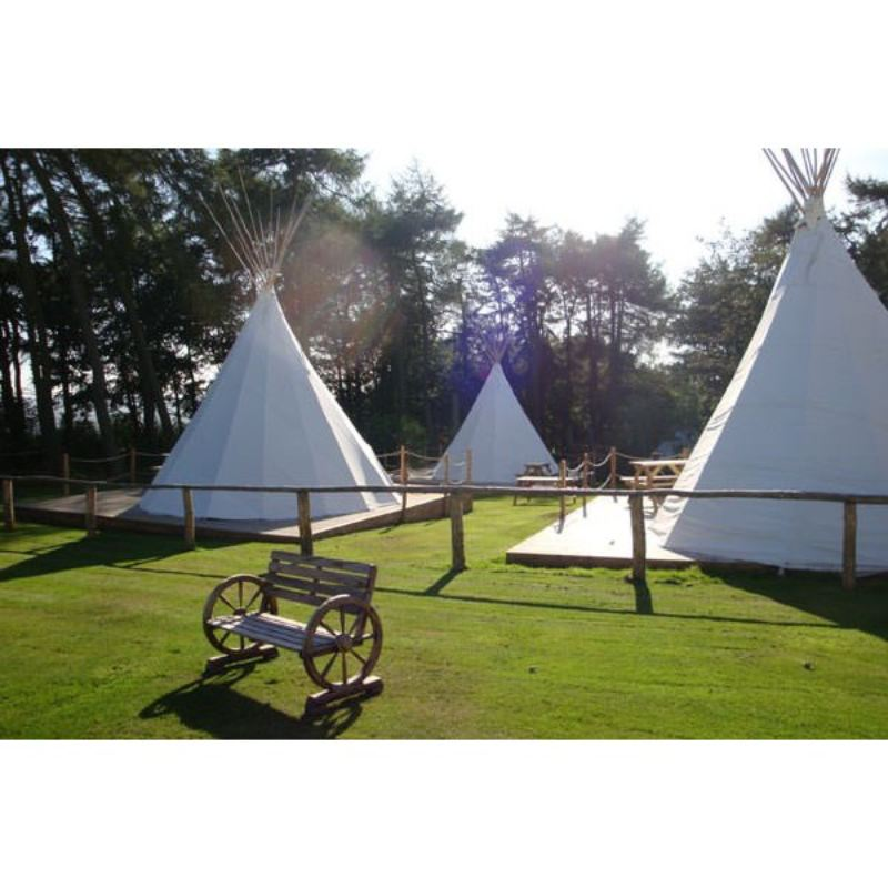 Two Night Stay in a Tipi at Pinewood Park product image
