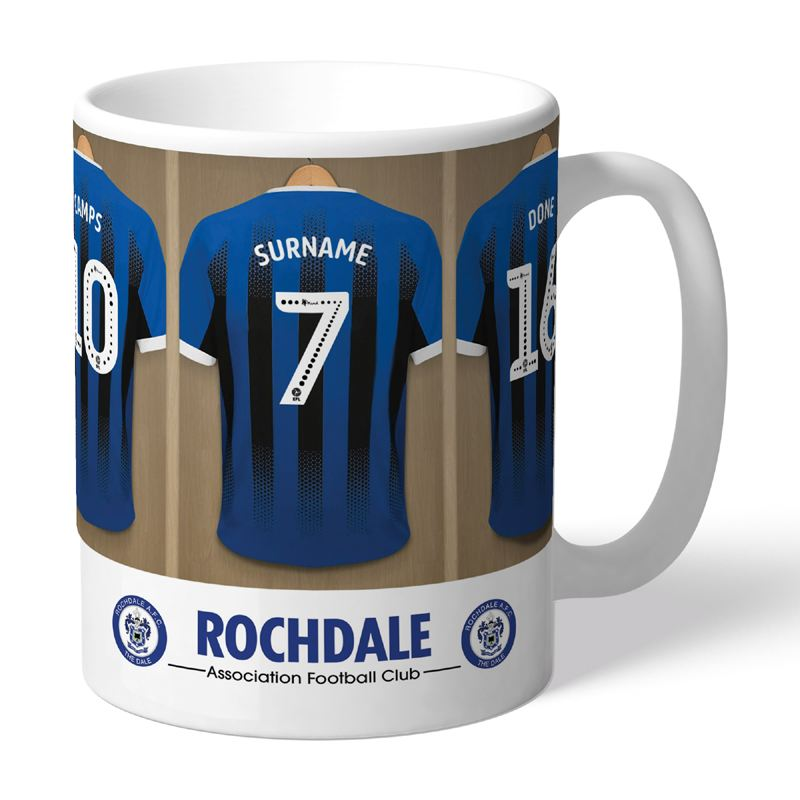 Personalised Rochdale AFC Dressing Room Mug product image