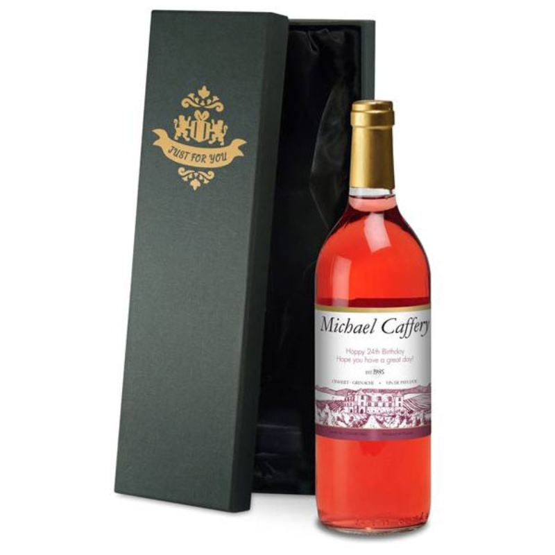Personalised Rose Wine product image