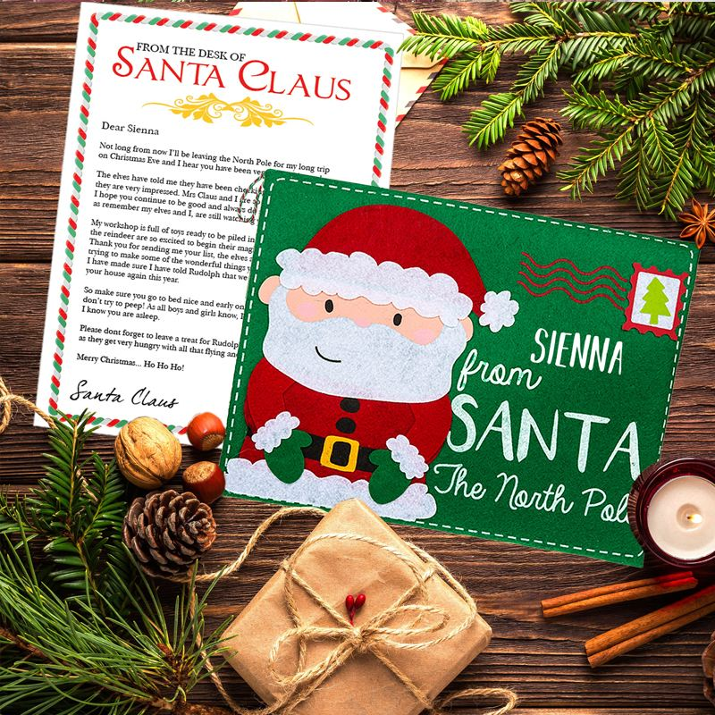 Santa Letter and Envelope product image