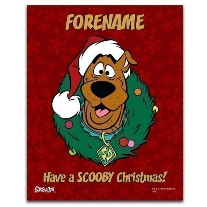 Scooby Doo Christmas Poster product image