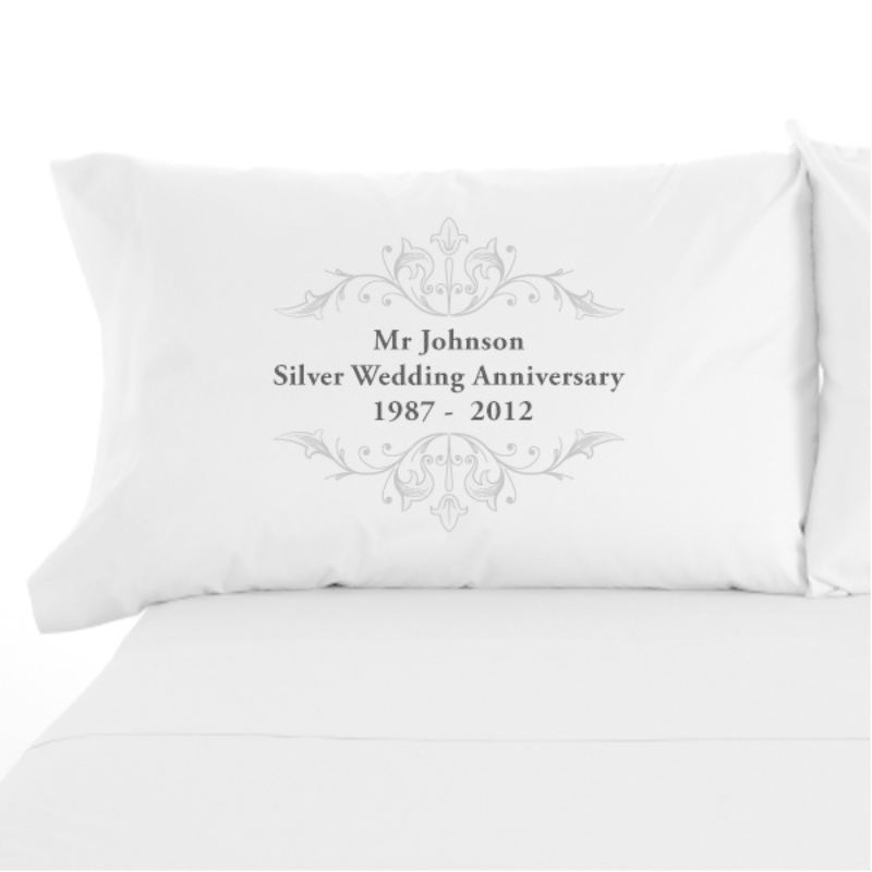 Silver Anniversary Pillowcases product image