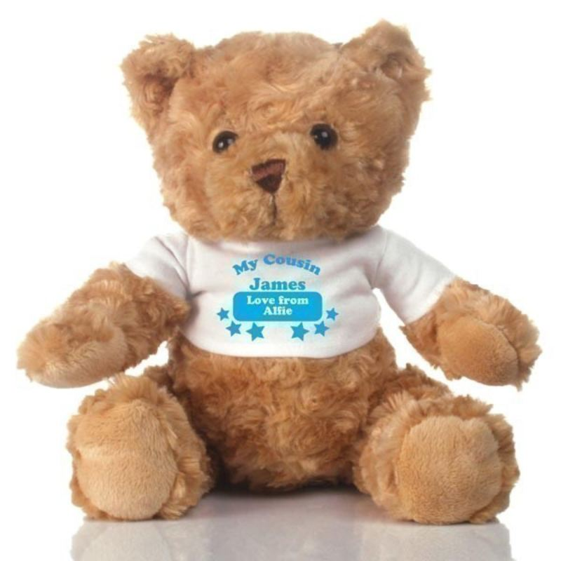 Special Cousin Personalised Teddy Bear product image