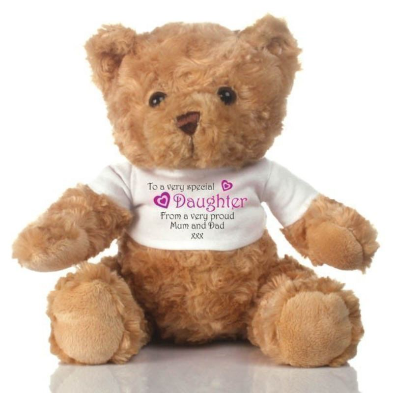 Special Daughter Personalised Teddy Bear product image