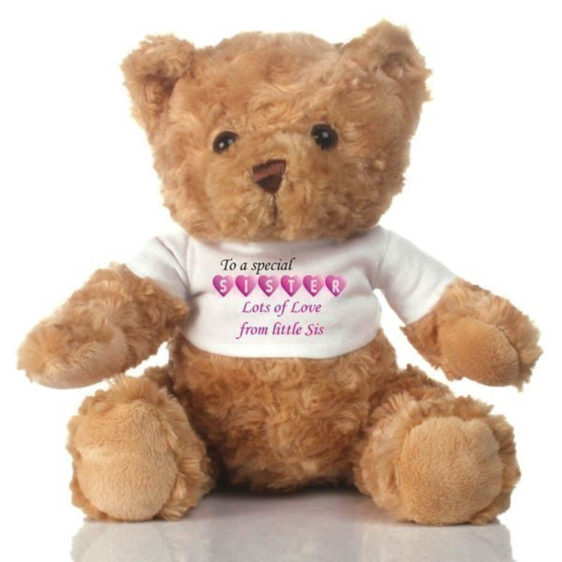 Special Sister Personalised Teddy Bear product image