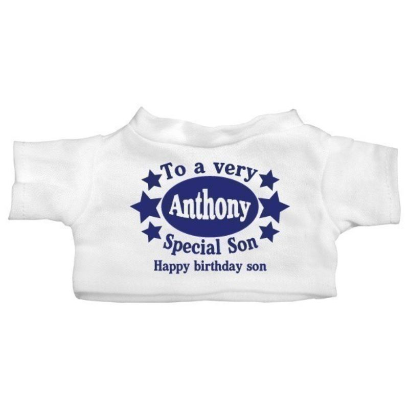 Special Son Personalised Teddy Bear product image