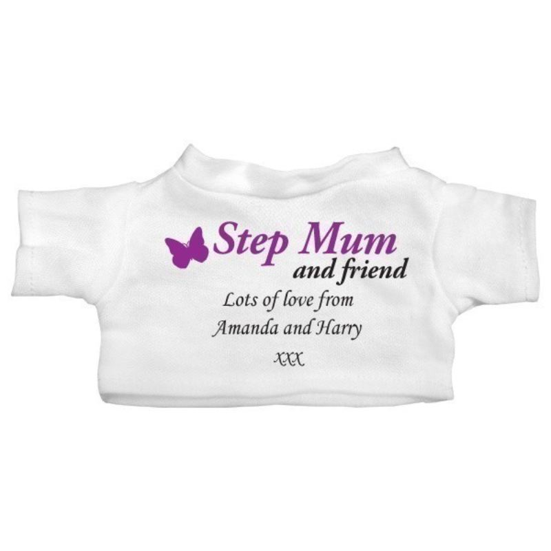 Special Step Mum Personalised Teddy Bear product image