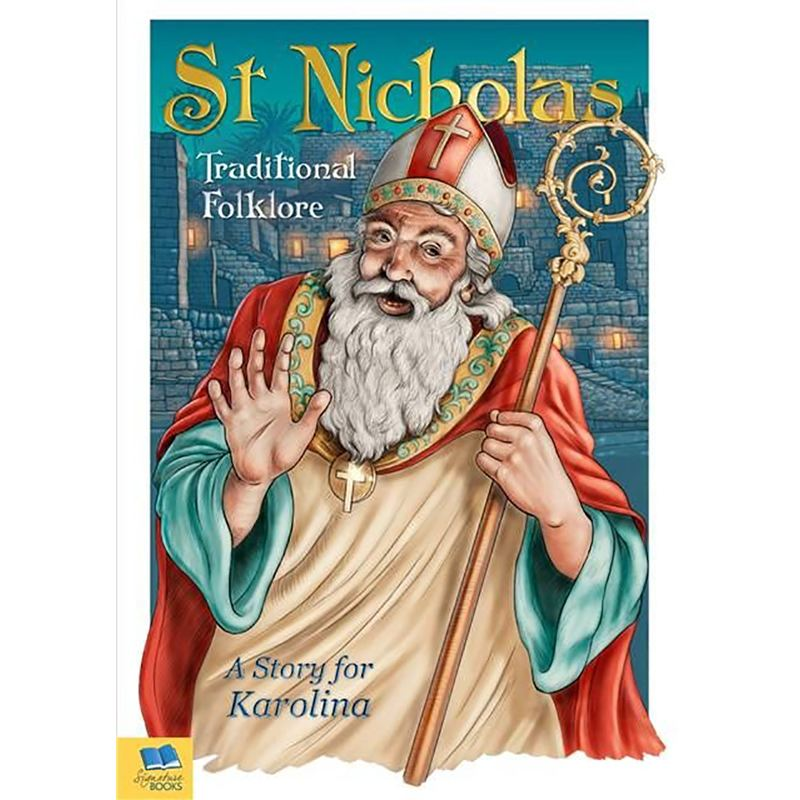 St Nicholas Traditional Folklore Embossed Classic Hardback Book product image