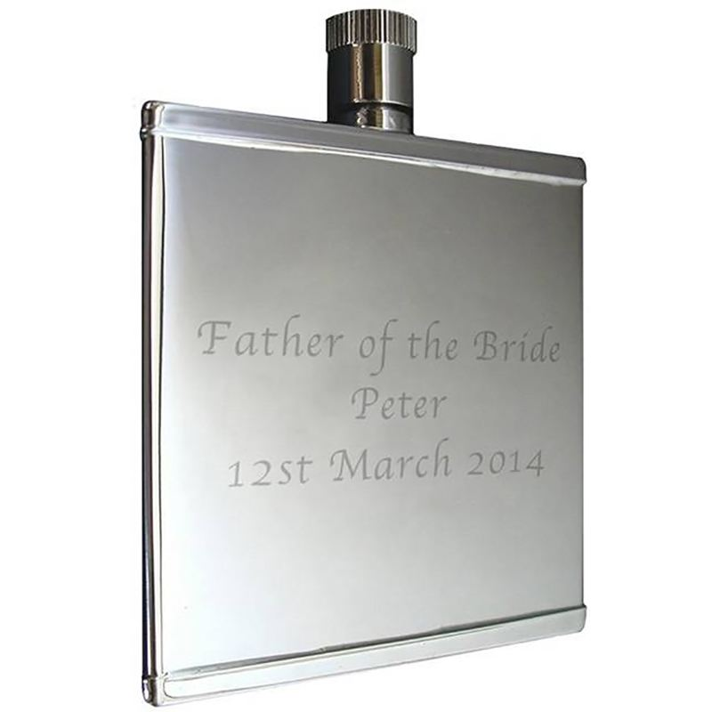 Stainless Steel 2oz Hip Flask product image