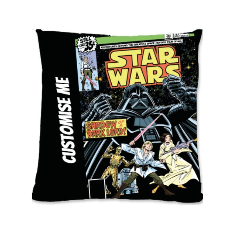 Star Wars Classic Comic Print Large Fibre Cushion product image