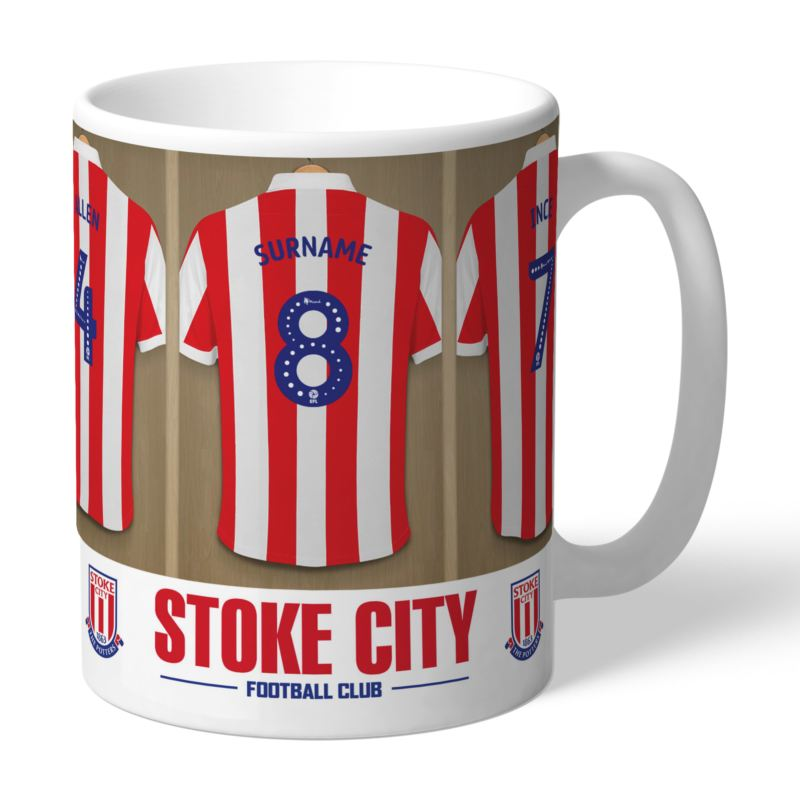 Personalised Stoke City FC Dressing Room Mug product image
