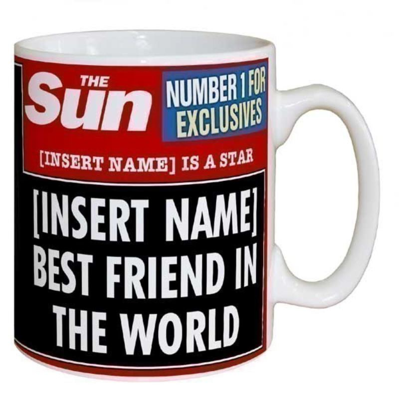 Sun Newspaper Best Friend Mug product image