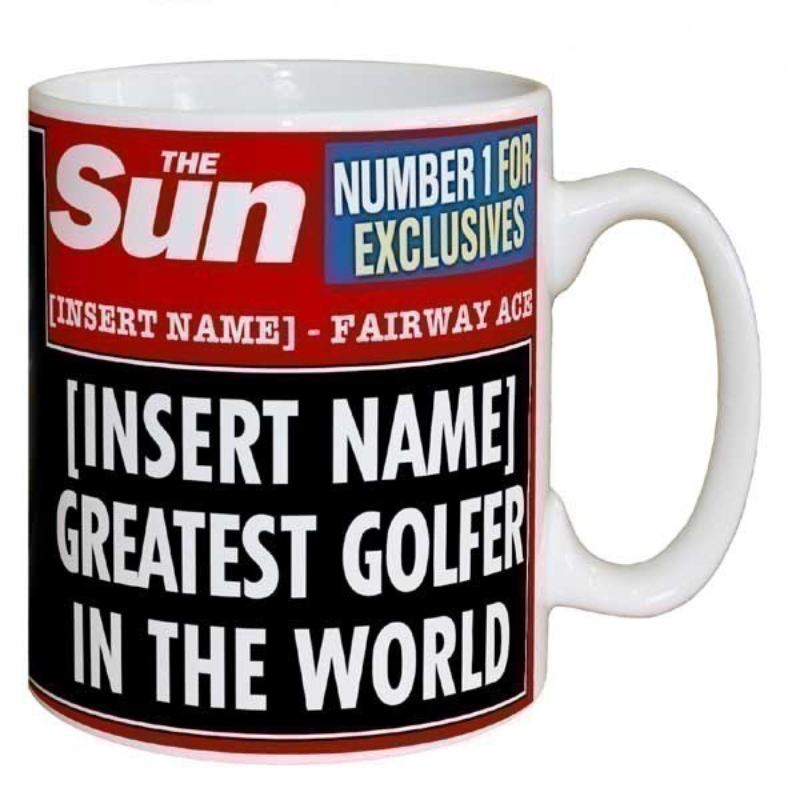 Sun Newspaper Best Golfer Mug product image