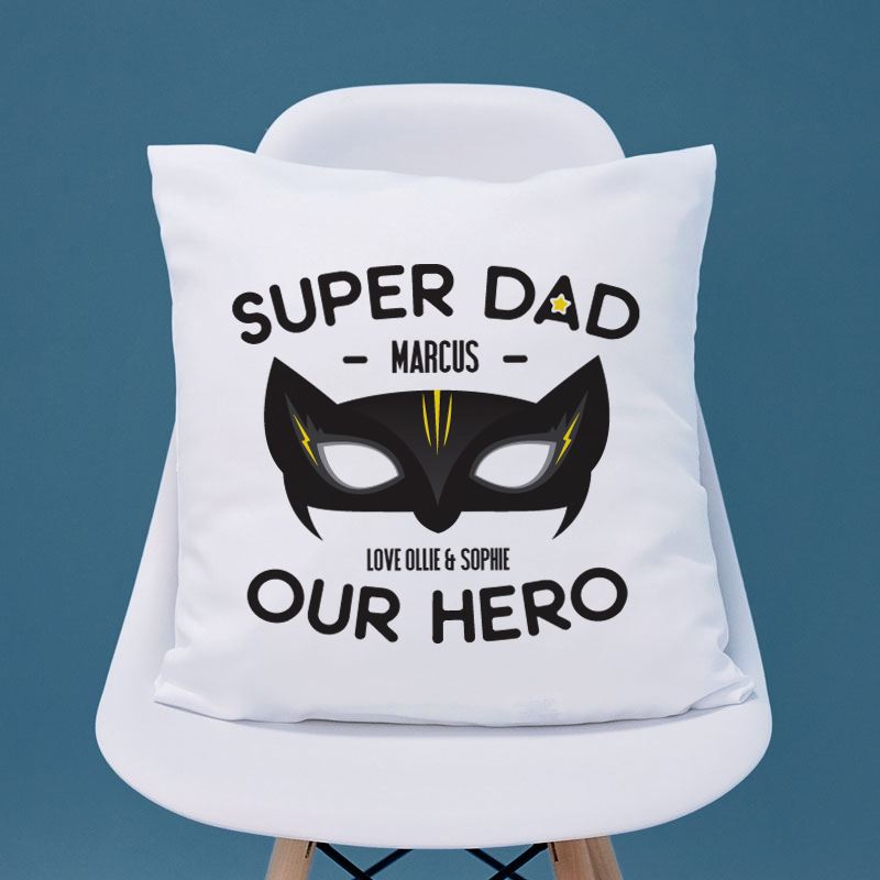 Personalised Super Dad Cushion product image