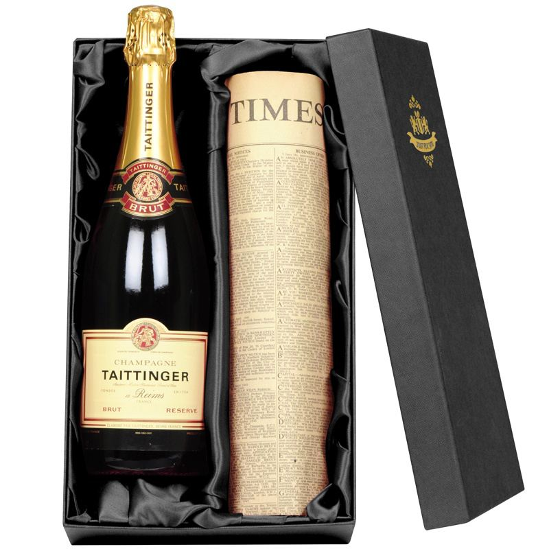 Taittinger Champagne & Newspaper product image