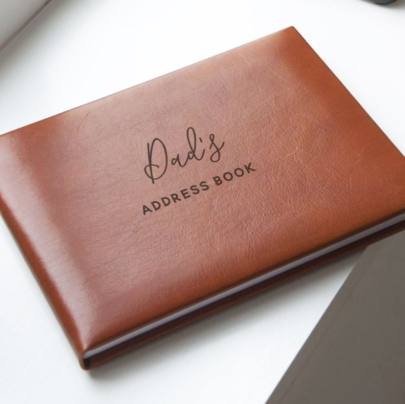Tan Personalised Address Book product image
