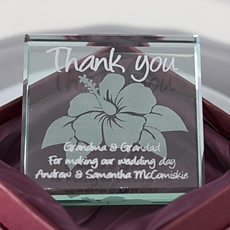 Thank You Glass Keepsake product image
