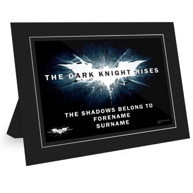 The Dark Knight Logo Personalised Poster product image